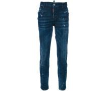 Jeans mit Pinselklecksen