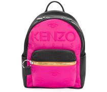 embossed eye backpack
