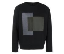 Sweatshirt mit Rechtecken