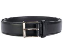 Monogram roller buckle belt