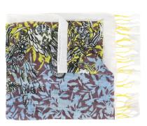 Leinenschal mit Print - women - Leinen/Flachs
