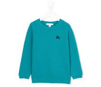 - Pullover mit Logostickerei - kids - Baumwolle
