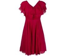 ruffled-detail mini dress