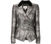 asymmetric blazer