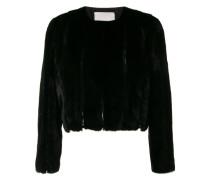 lace detail short jacket