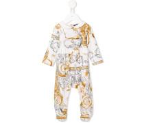 Pyjama mit Barock-Print