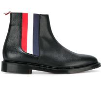 Chelsea-Boots mit Kontraststreifen