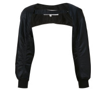 bomber-style sleeves