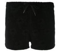Shorts mit Palmenmuster