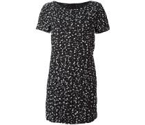 Kleid mit gesprenkeltem Effekt