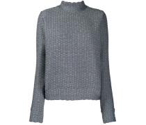 'Inverto' Pullover mit Stehkragen