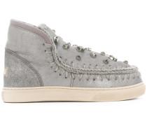 Loafer mit Kristallverzierungen
