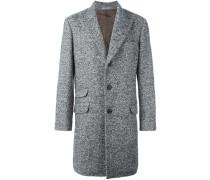 cashmere herringbone coat