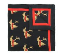 swan print scarf