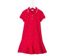 Kleid mit Augen-Print