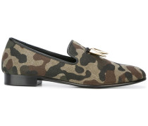 camouflage mocassin