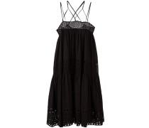 Kleid mit überkreuzten Trägern - women