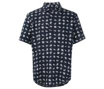 Hemd mit Fisch-Print - men - Baumwolle - XL