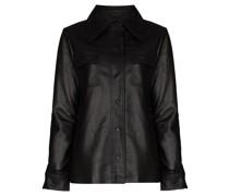 Rosalee buttoned shirt jacket