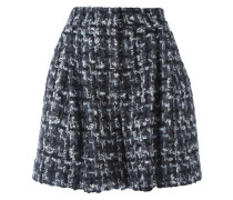 Bouclé-Shorts in A-Linie