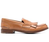 Loafer mit Zierfransen