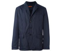 notched lapel lightweight jacket