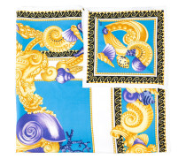 Baroque Oceanic scarf