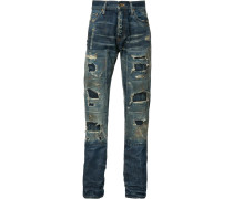 Jeans in Destroyed-Optik