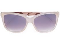 Rechteckige Oversized-Sonnenbrille