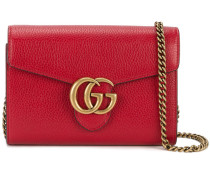 - GG Marmont shoulder bag - women - Leder/metal