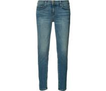 Cropped-Jeans mit schmalem Schnitt - women