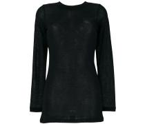 Semi-transparenter Pullover