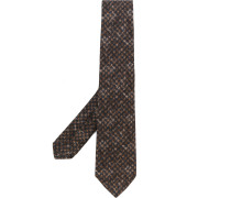 Krawatte mit Hahnentrittmuster