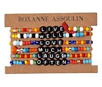 'Live Well Love Much Laugh Often' Armbänder