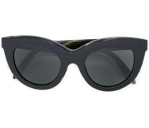 Cat-Eye-Sonnenbrille mit Logo - women