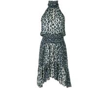 A.L.C. leopard print silk mini dress