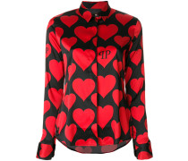 heart motif shirt - Unavailable
