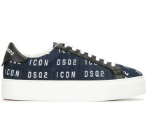 'Icon' Sneakers mit Plateausohle
