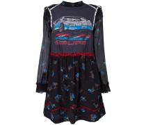 Mehrlagiges Kleid mit Auto-Print - women