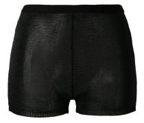 Shorts mit Strickmuster - women