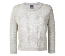 cable knit jumper - women