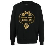 Sweatshirt mit barockem Logo