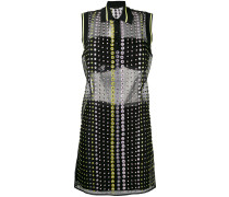 - crystal embroidered sheer dress - women