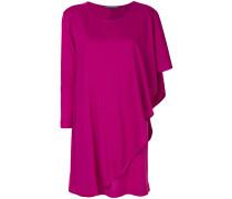 draped knitted dress