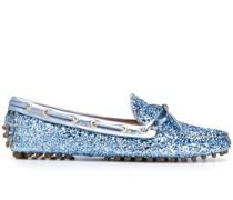 Loafer mit Glitter-Detail