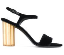 flower heel sandals