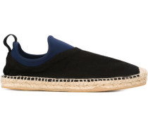 Espadrilles in Colour-Block-Optik