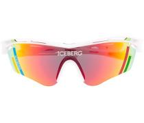 Sonnenbrille im Visier-Design