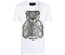 Verziertes T-Shirt mit Teddy