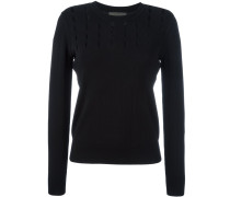 open panel knitted top